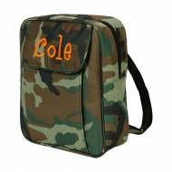 Discontinued - Monogrammed Camo Small Backpack