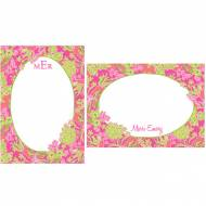 Lilly Pulitzer Personalized Correspondence Card Luscious
