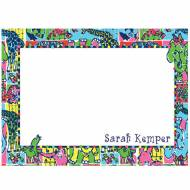 Lilly Pulitzer Personalized Correspondence Card Partyland Patch