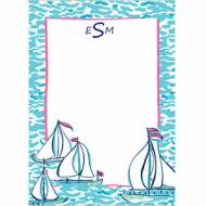 Lilly Pulitzer Personalized Correspondence Card Docksider