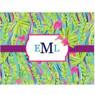Lilly Pulitzer Personalized Foldover Note Nice To See You
