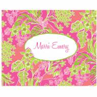 Lilly Pulitzer Personalized Foldover Note Luscious