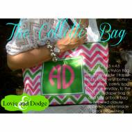 Discontinued - Monogrammed Shoulder Bag To Design Yourself