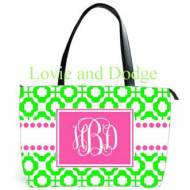 Discontinued - Monogrammed Ava Shoulder Bag