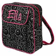 Discontinued - Monogrammed Black Swirl Small Backpack
