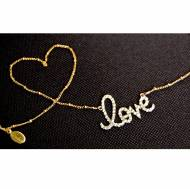 Love Is In The Air Necklace 14KT