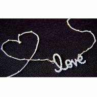 Love Is In The Air Necklace Sterling Silver