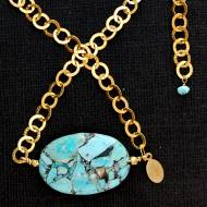 Mosaic 14KT Necklace