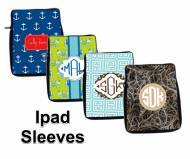 Monogrammed Neoprene IPad And Kindle DX Tablet Sleeve