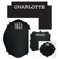 Personalized Chalkboard Wall Decals