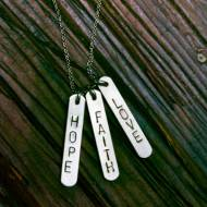 Lucky Bars Identity Necklace