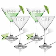 Personalized Glass Cocktail Set Of 4