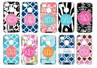  Monogrammed Otterboxes For IPhone 4, IPhone 5, Blackberry 9800, HTC Evo 4g, Samsung Galaxy 3   