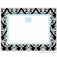 Madison Damask Small Flat Card