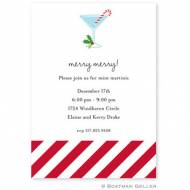 Candy Cane Invitation