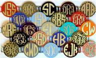Interchangeable Acrylic Monograms For Purses