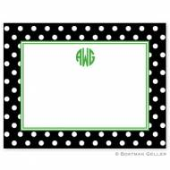 Polka Dot Small Flat Correspondence Card