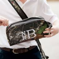 Monogrammed Woodland Pencil Or Toiletry Bag