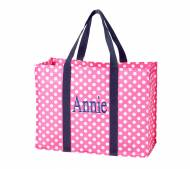 Monogrammed All Purpose Pink Tote