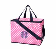 Monogrammed Soft Side Pink Cooler