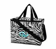 Monogrammed Soft Side Zebra Cooler