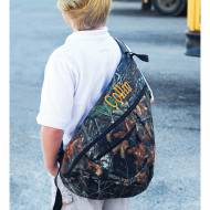 Monogrammed Woodland Sling Backpack