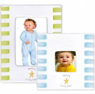 Baby Stripe Little Star Frame