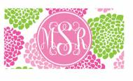Monogrammed License Tags Create Your Own!
