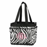 Discontinued - Monogrammed Zebra Mini Caddy