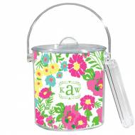 Lilly Pulitzer Garden By The Sea White Ice Bucket