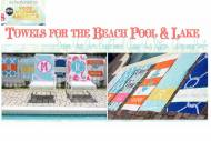 Beach Towels- Add A Monogram Or A Name!  As Seen On Good Morning America