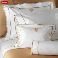 King Sham With 3 Inch Monogram