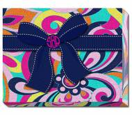 Monogrammed Fun Print Wrapped Canvas