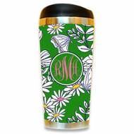 Monogrammed Fun Print Stainless Steel Travel Mug