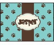 Prancing Paws Personalized Pet Floor Mat
