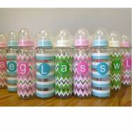 Monogram Baby Bottles With Shatter Resistant Glass
