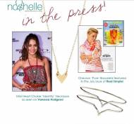 Mini Heart Identity Necklace As Seen On Vanessa Hudgens