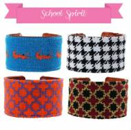 School Spirit Cuffs