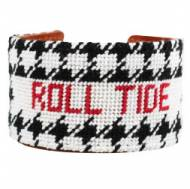 Roll Tide Needlepoint Cuff