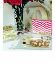 Monogrammed Napkin Or Letter Holder
