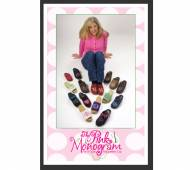 Sample Pack Of Monogrammed Clogs For Sizing