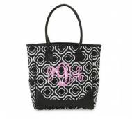 Monogrammed Tote NGB Bag In The Loop Pattern