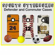 Customized Sport OtterBox Commuter Case For IPhone 4, IPhone 5, Galaxy S3 And Galaxy S4