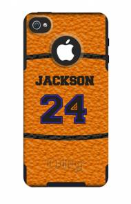 Customized Basketball OtterBox Commuter Case For IPhone And Galaxy