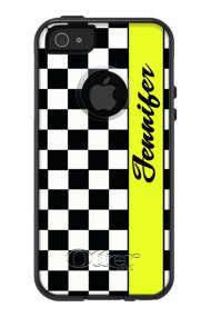 Customized Checkered OtterBox Commuter Case For IPhone And Galaxy