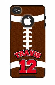 Customized Football OtterBox Commuter Case For IPhone And Galaxy