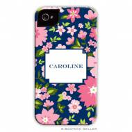 Caroline Floral Pink Cell Phone Case