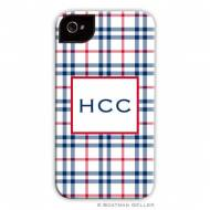 Miller Check Navy & Red Cell Phone Case