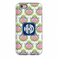 Pineapple Repeat Pink Cell Phone Case