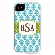 Beti Teal Cell Phone Case